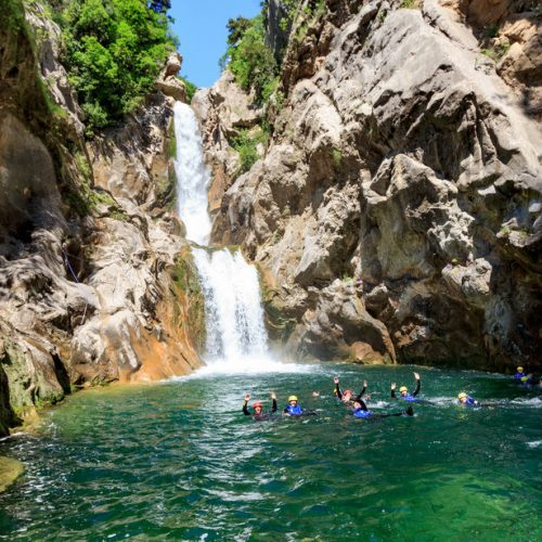 Canyoning tour from Split