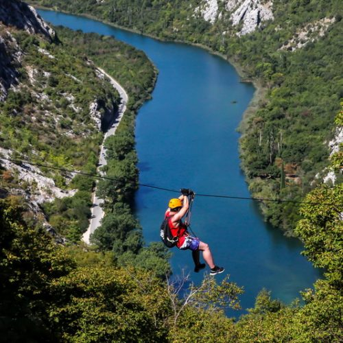 Zipline tour Split Omiš