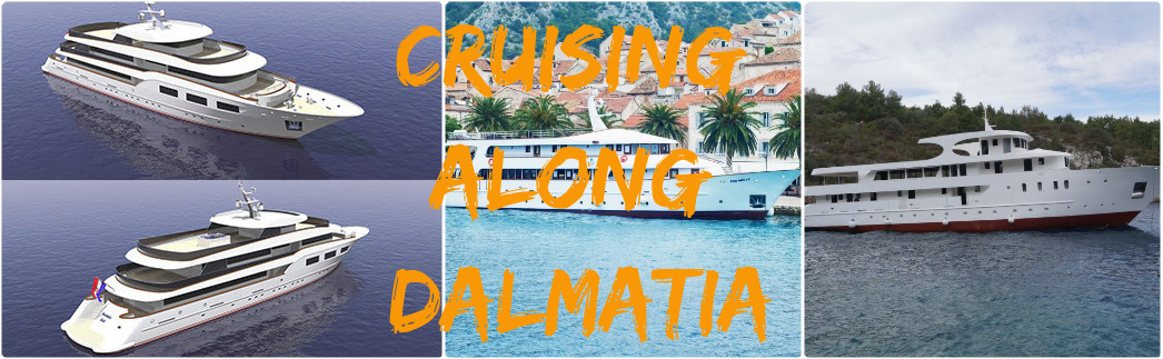 Cruising along Dalmatia Croatia