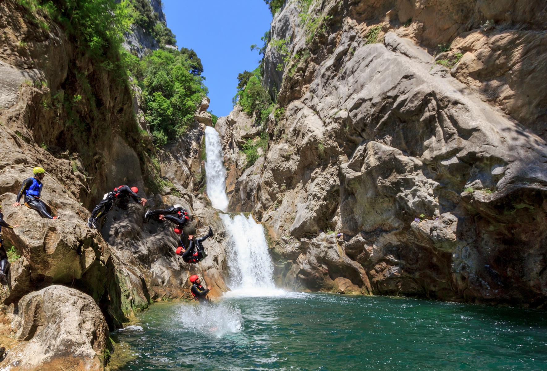 Tours in Split Croatia 2019 - Extreme Canyoning