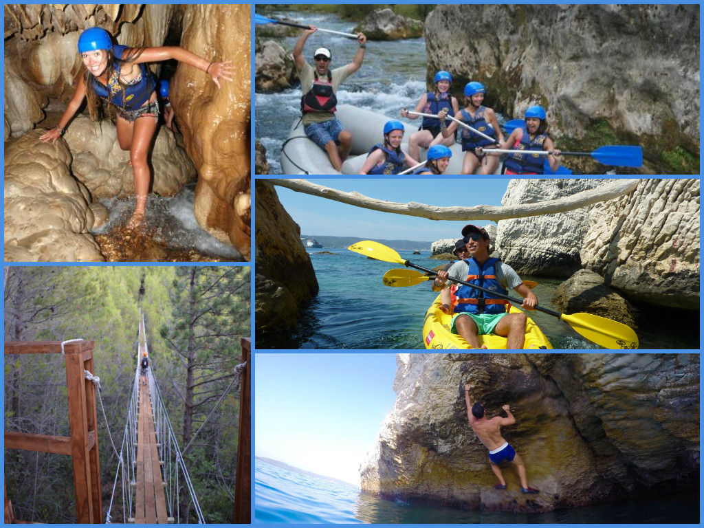 Excursions on Cruise Ships in Split - Adventure
