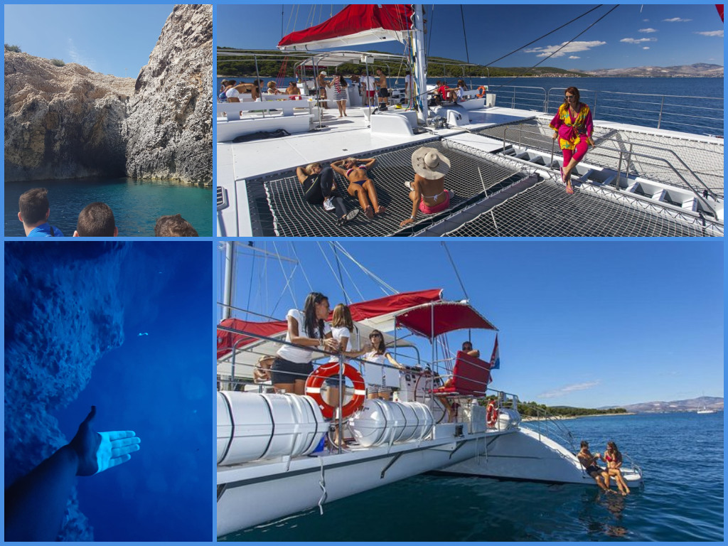 Excursions on Cruise Ships in Split - Boat