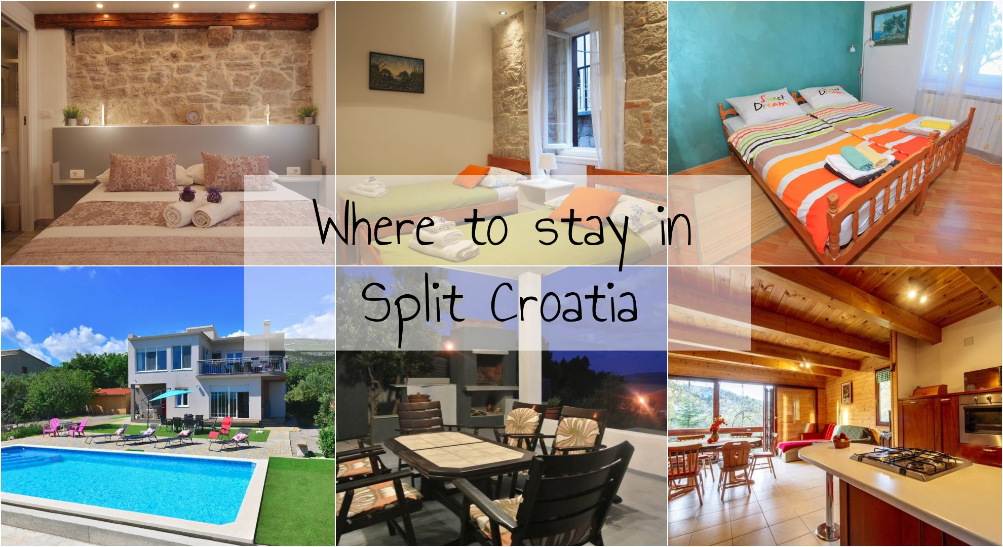 Where to stay in Split Croatia