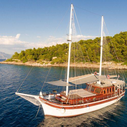 Charter Gulet rental 7 day
