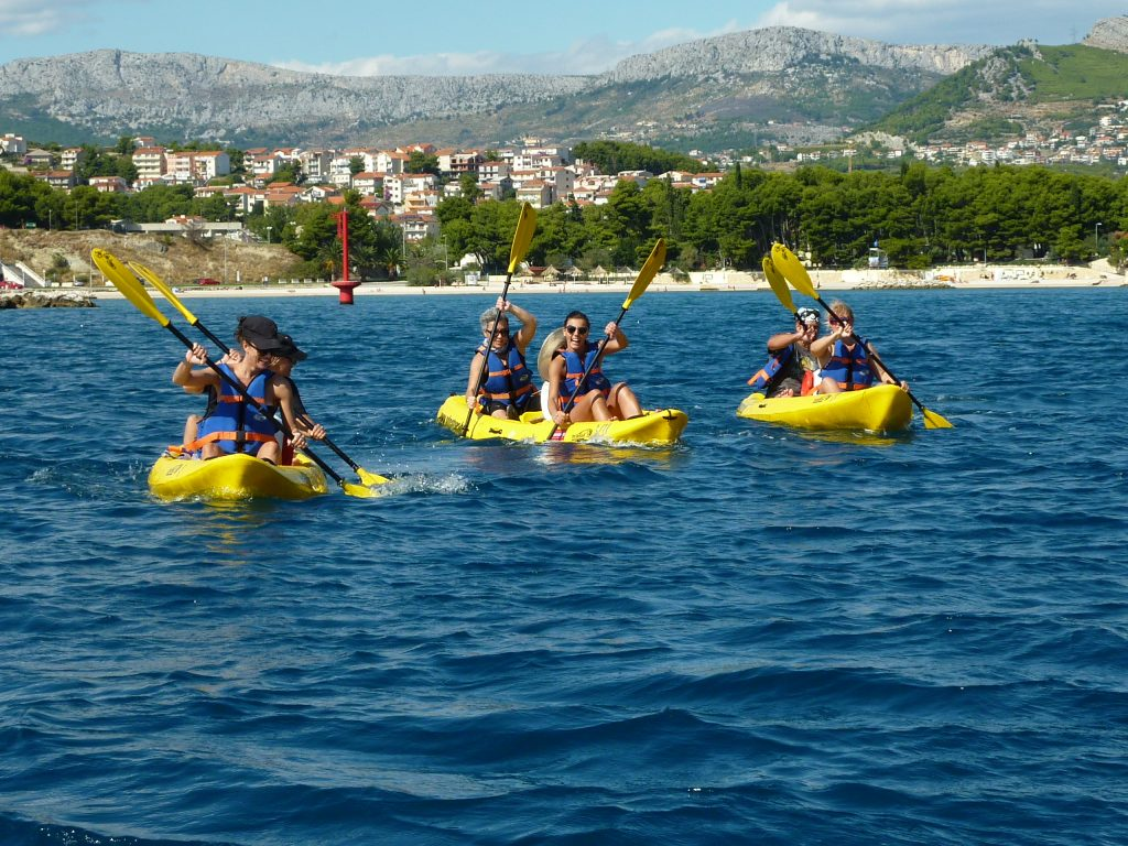 Sea kayaking tour Split