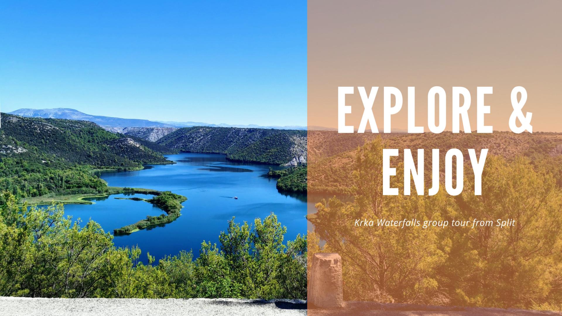 Krka Waterfalls explore & enjoy_copy