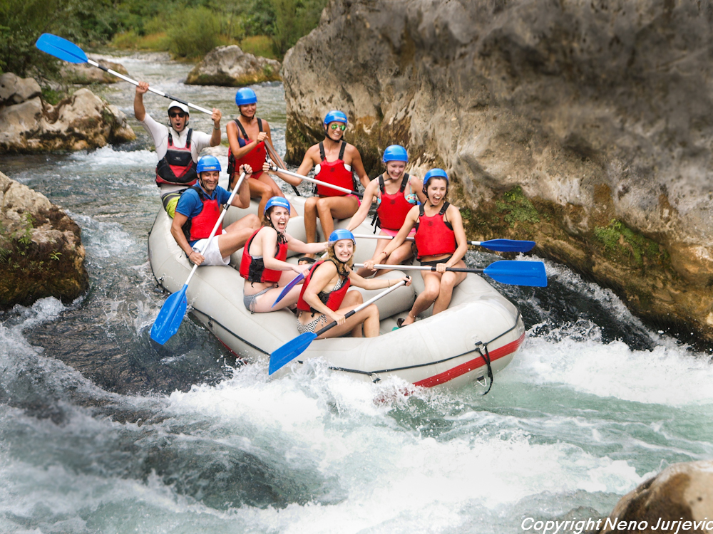 Rafting Split tour excursion Split