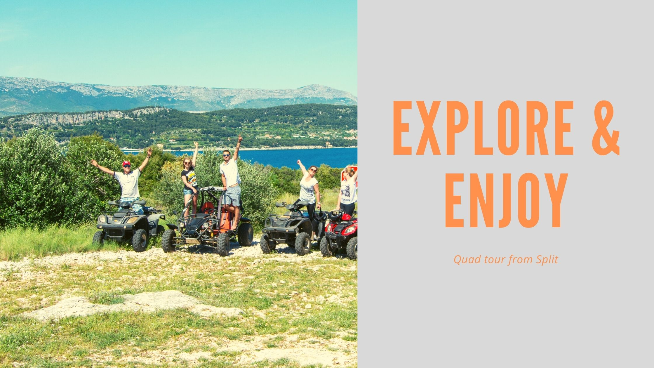 Quad excursion from Split