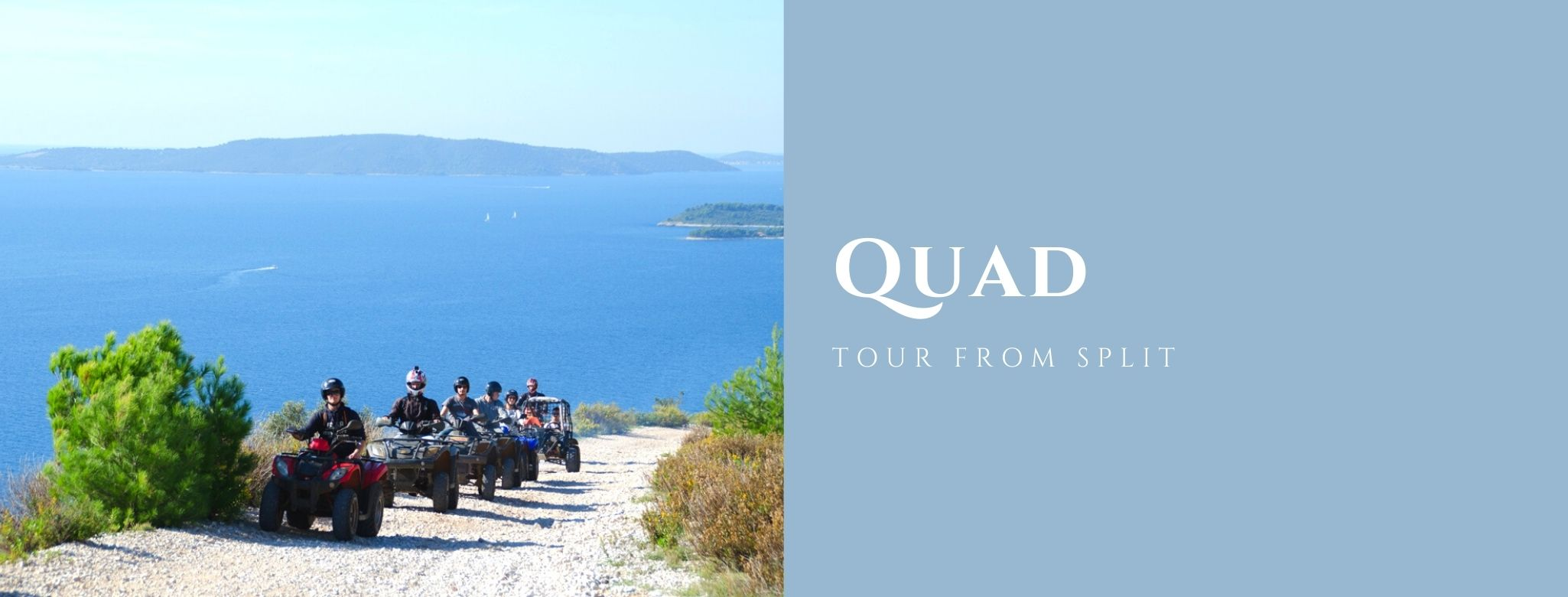 Quad tour from Split excursion MAIN
