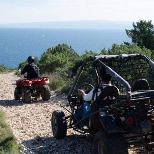 Quad tour from Split excursion