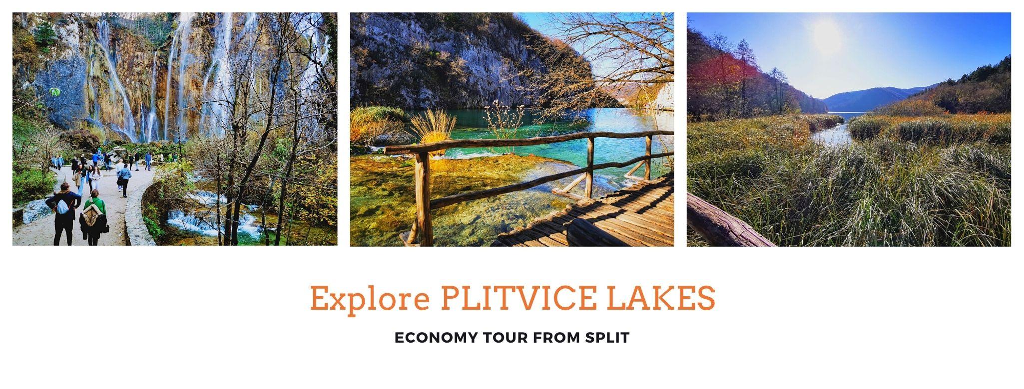 Plitvice lakes economy tour
