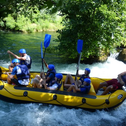Whitewater Rafting from Split