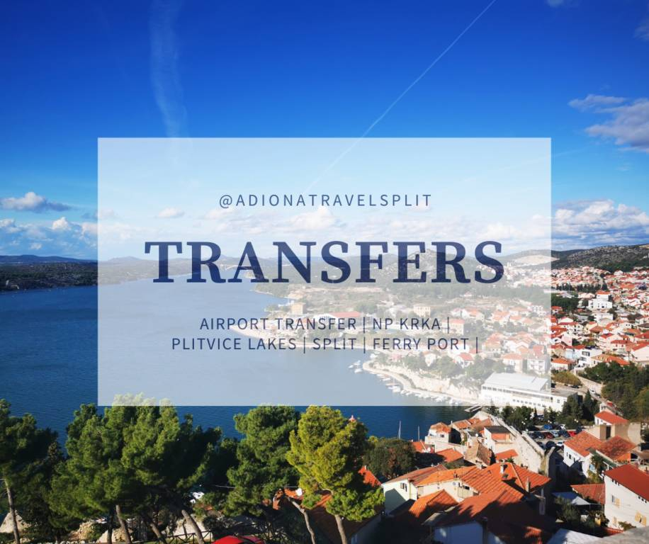 Transfer Zadar airport Šibenik