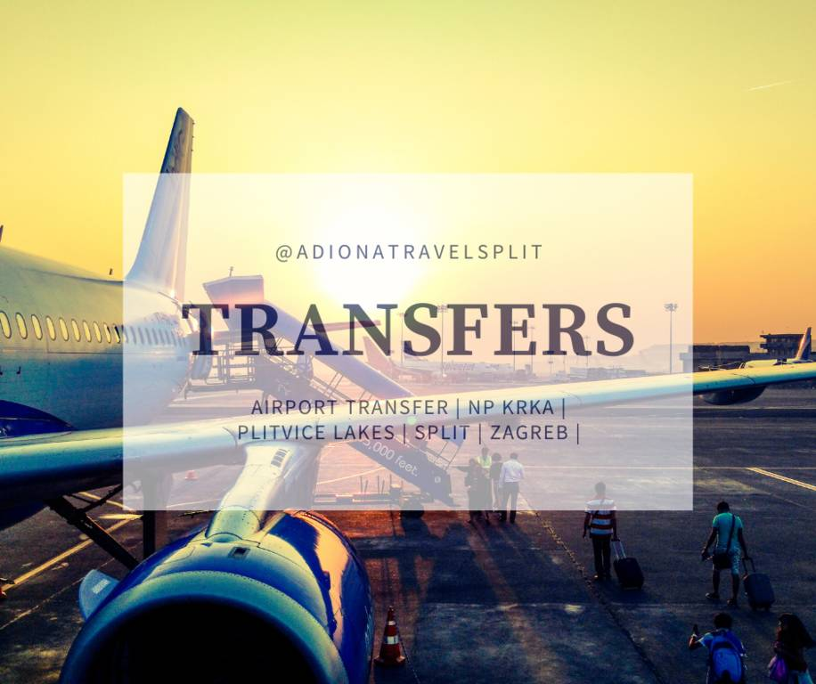Transfer from Split airport to Tisno