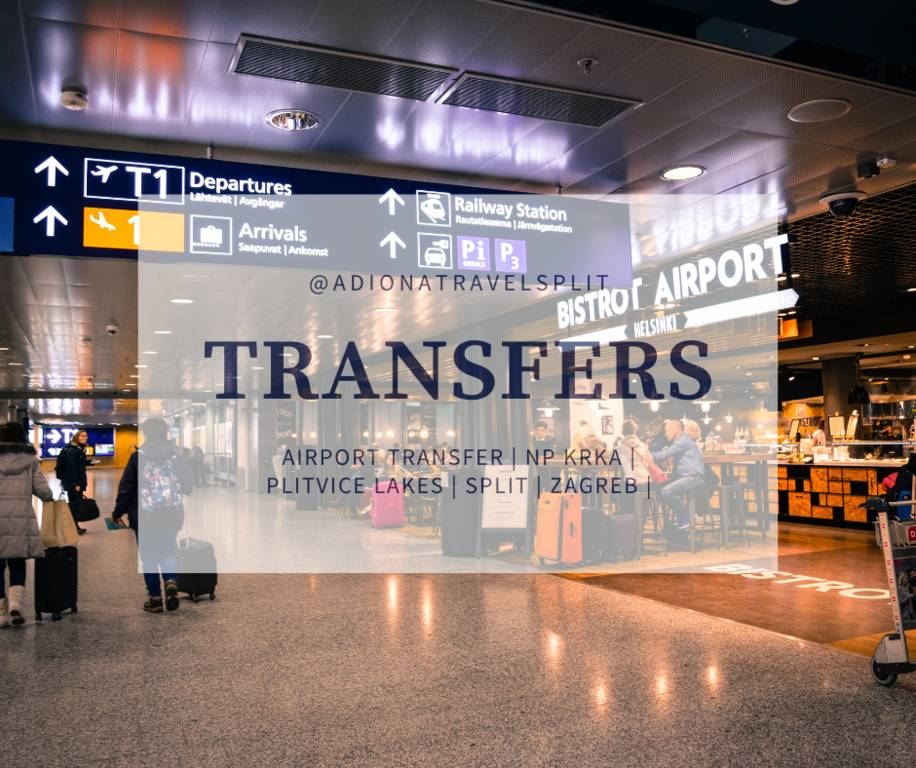 Transfer Split airport Dubrovnik