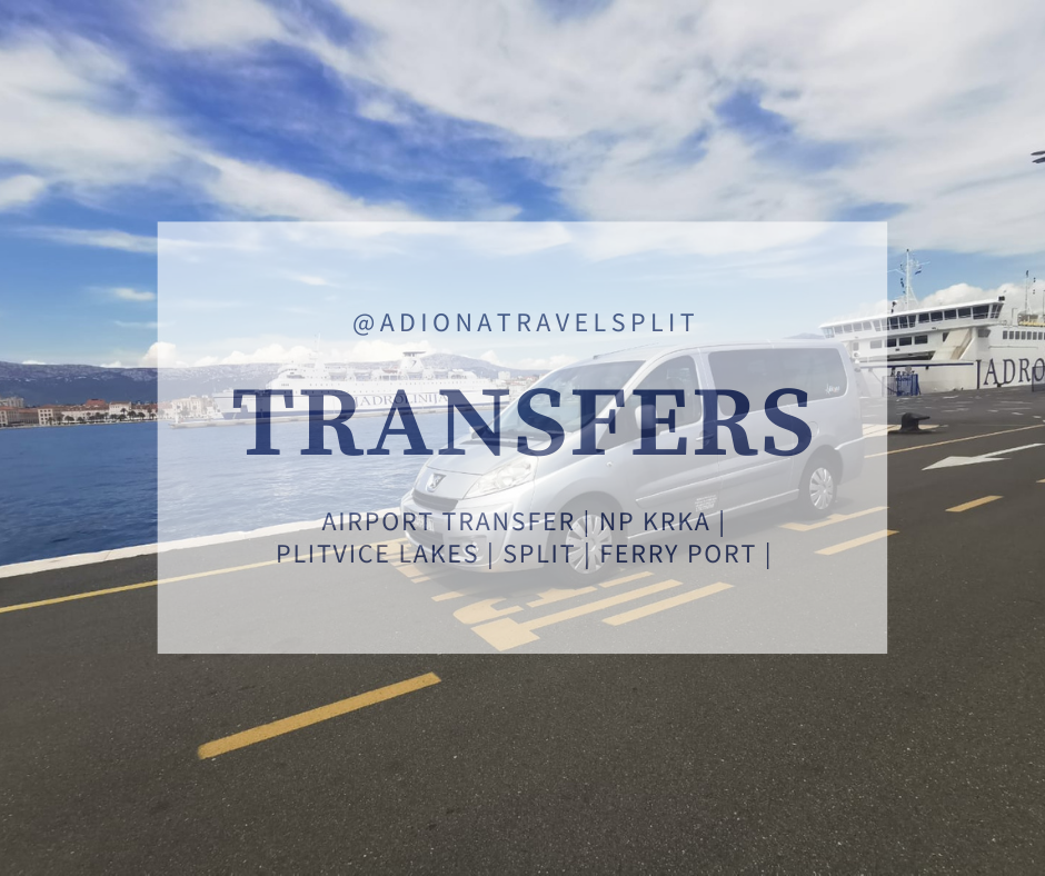 Transfer Zadar airport Split