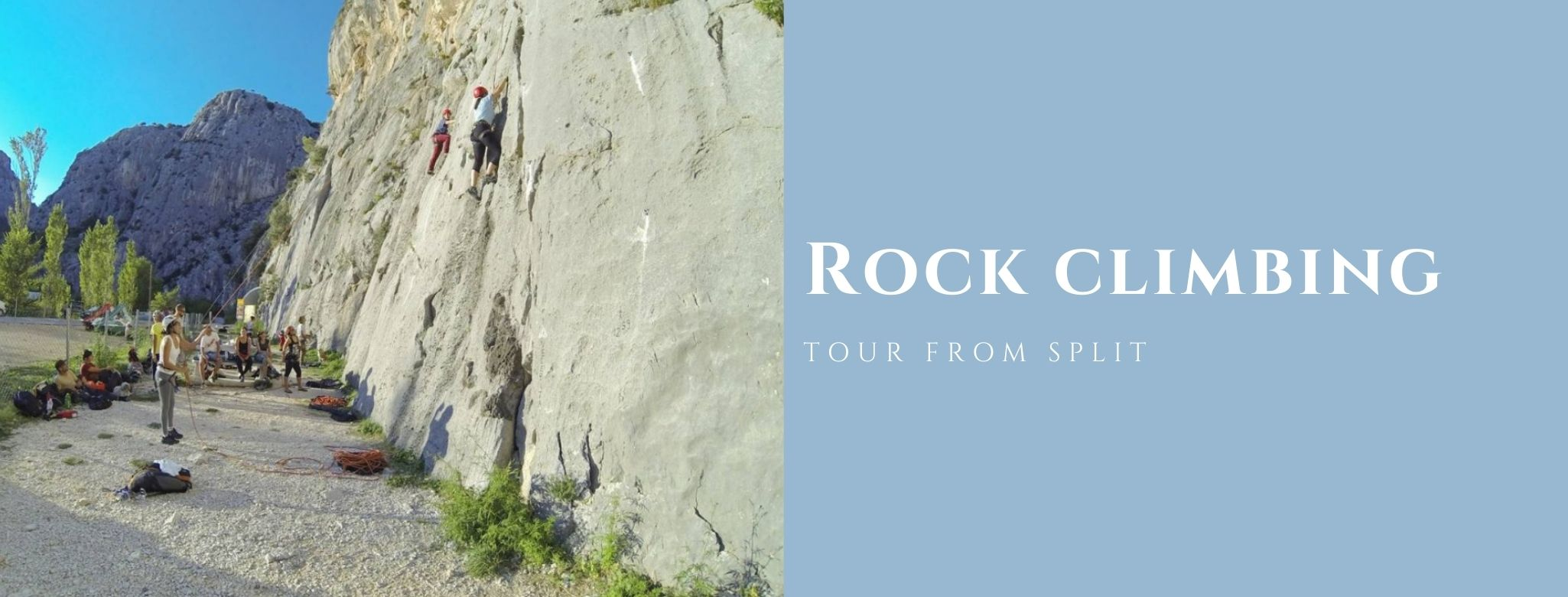 Rock Climbing Omiš MAIN