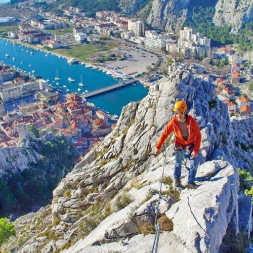 Via Ferrata trail Omiš tour from Split