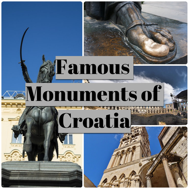 Famous Monuments of Croatia 2020