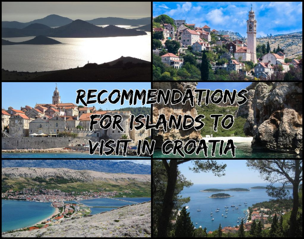 Recommended Islands to visit in Croatia