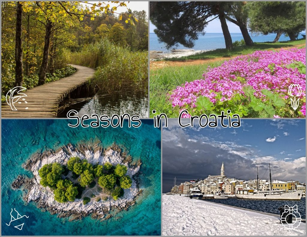 Seasons in Croatia