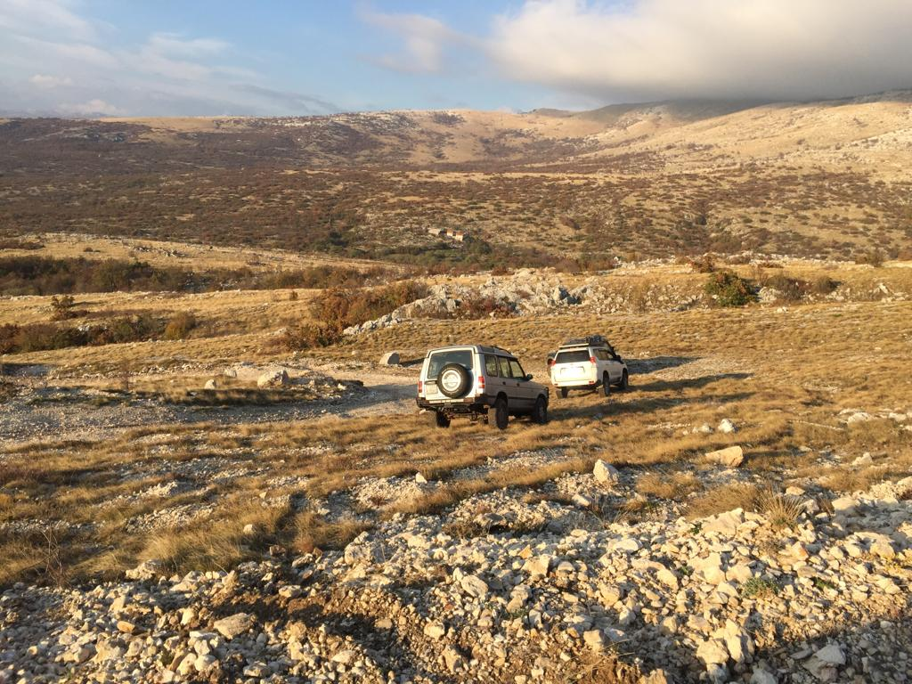 Off-road Jeep tours from Split