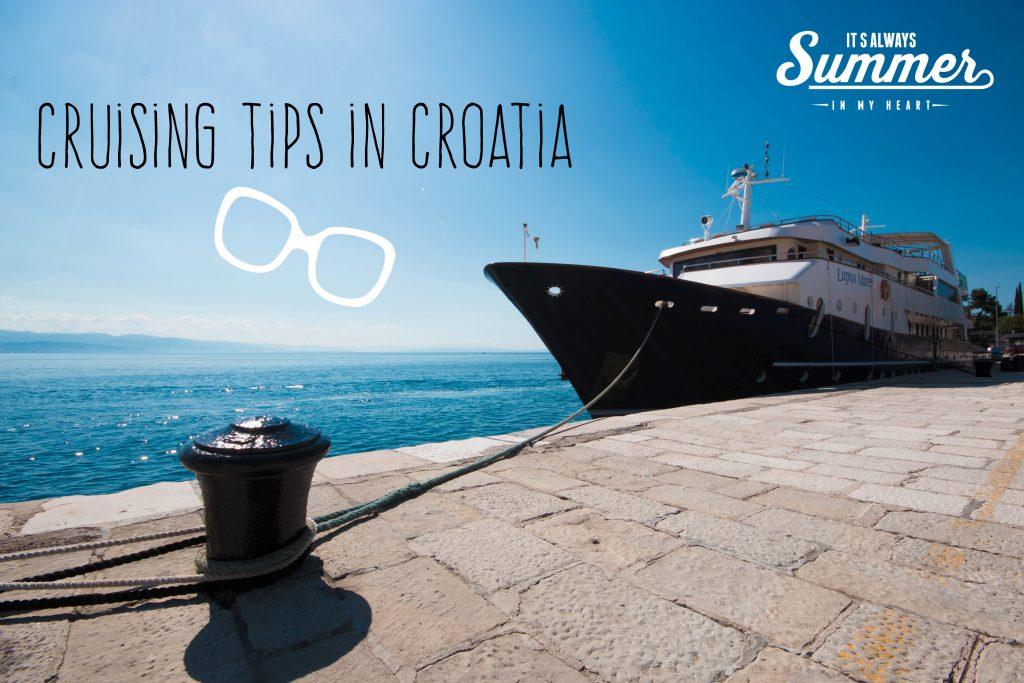 Cruises Croatia recommendation tips