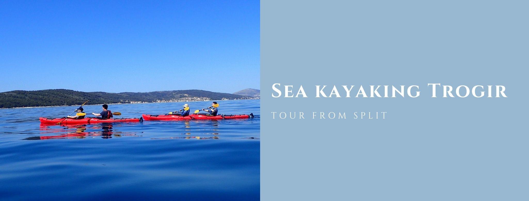 Trogir Kayaking